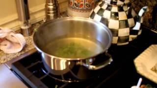 Mary Jane Ramos Cooking - Broccoli Soup