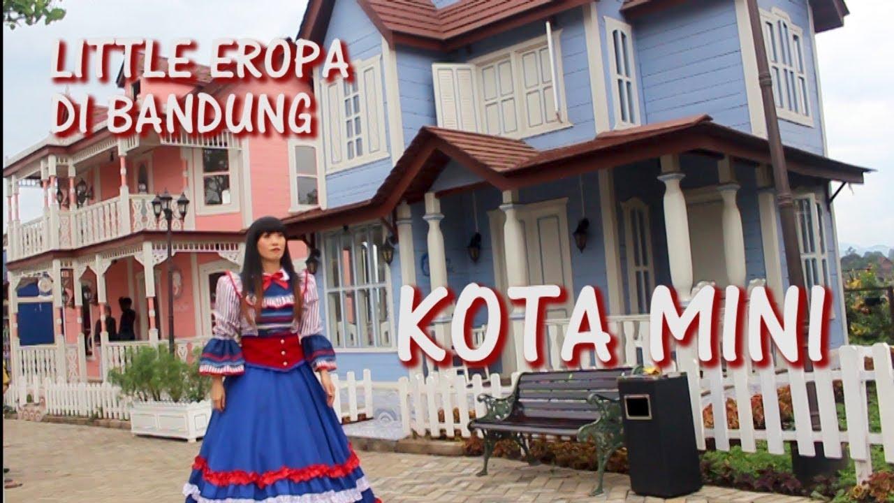 Kota Mini Di Floating Market Lembang Wisata Kekinian Bandung Youtube Tiket Masuk