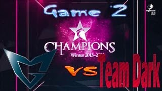 Samsung Galaxy Ozone vs Team Dark  || Champions Winter 2013 - 2014 || Group Stage Group C Game 2