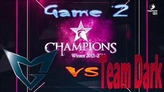 Samsung Galaxy Ozone vs Team Dark  || Champions Winter 2013 - 2014 || Group Stage Group C Game 2