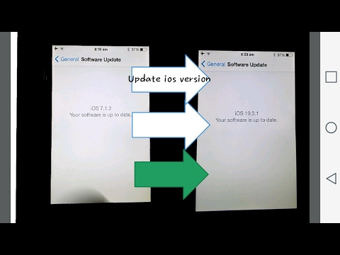 Update Ios 7.1.2 To Ios 10.3.1 In IPhone 4/4s