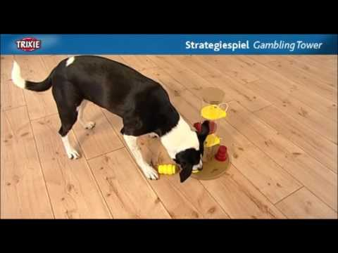 SVJH Trixie Gambling Tower Dog Activity Game