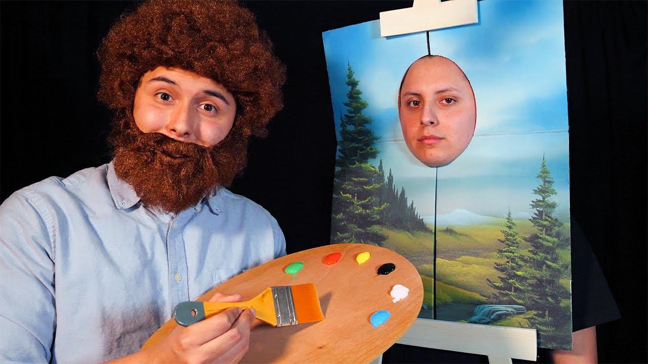 Download ASMR | Bob Ross the Joy of Painting Role Play (ft. @Lazuras ASMR )