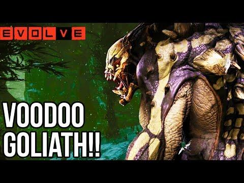 VOODOO GOLIATH!! Evolve Gameplay Walkthrough - Multiplayer - Part 44!! (PS4 1080p HD)