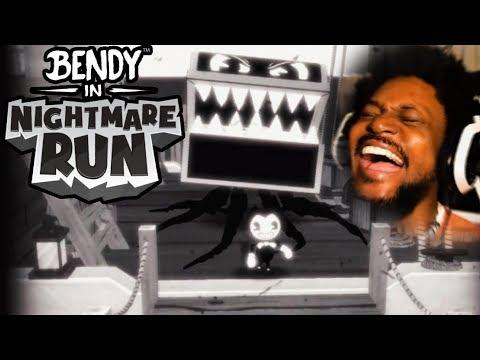 NEW BENDY RUNS GAME IS CRAZY! | Bendy In Nightmare Run