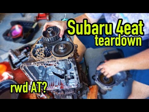 Tearing down a Subaru Automatic Transmission | Part 1