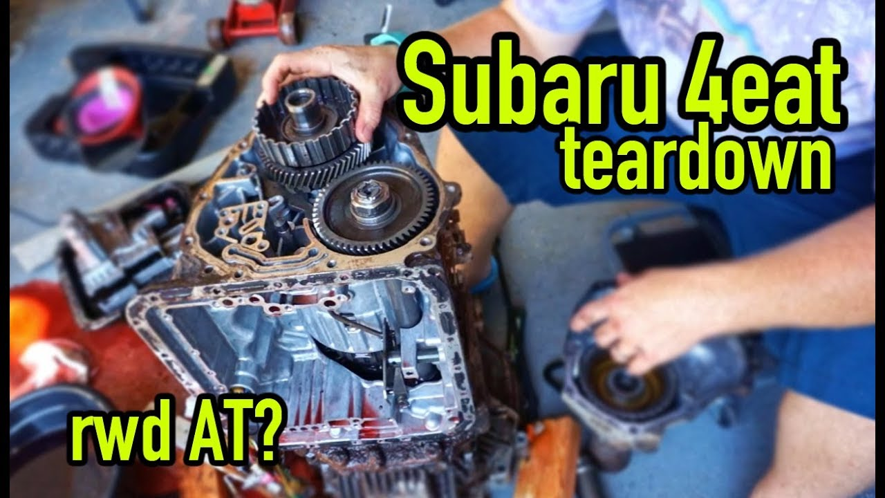 Tearing down a Subaru Automatic Transmission | Part 1