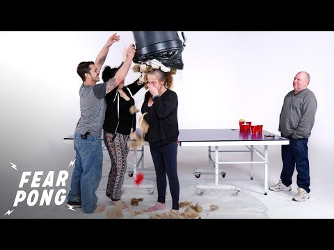 Husband Bonds with Wife's Parents In A Game Of Fear Pong | Fear Pong | Cut