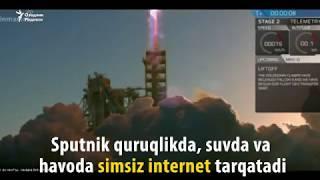 Энди интернет текин бўладими? Орбитага интернет тарқатувчи спутник чиқарилди