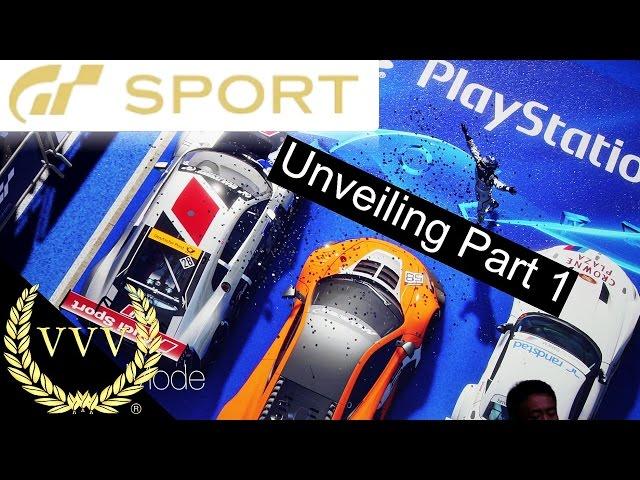 GT Sport Unveiling Part 1