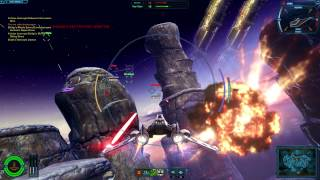 Star Wars: The Old Republic - Galactic Starfighter battle
