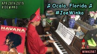 Ocala, Florida Piano Song | Havana, Camila Cabello Parody | Joe Winko