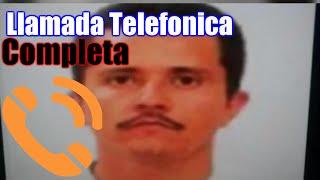 LLAMADA COMPLETA del Mencho ORDENANDO a mando policiaco en Jalisco (Subtitulado)