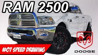 Dodge RAM 2500 - Speed Drawing
