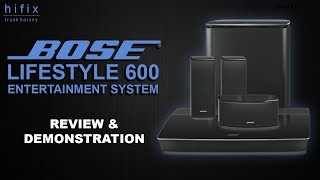 Bose Lifestyle 600 Entertainment System Review and Demonstration