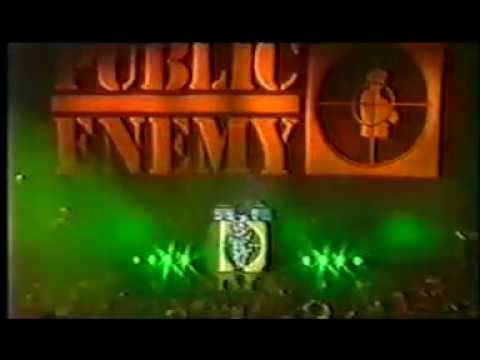 Public ENEMY - TOO MUCH POSSE(live)