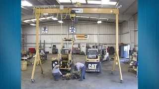 Spanco A Frame Gantry Crane - Construction Equipment Maintenance Testimonial