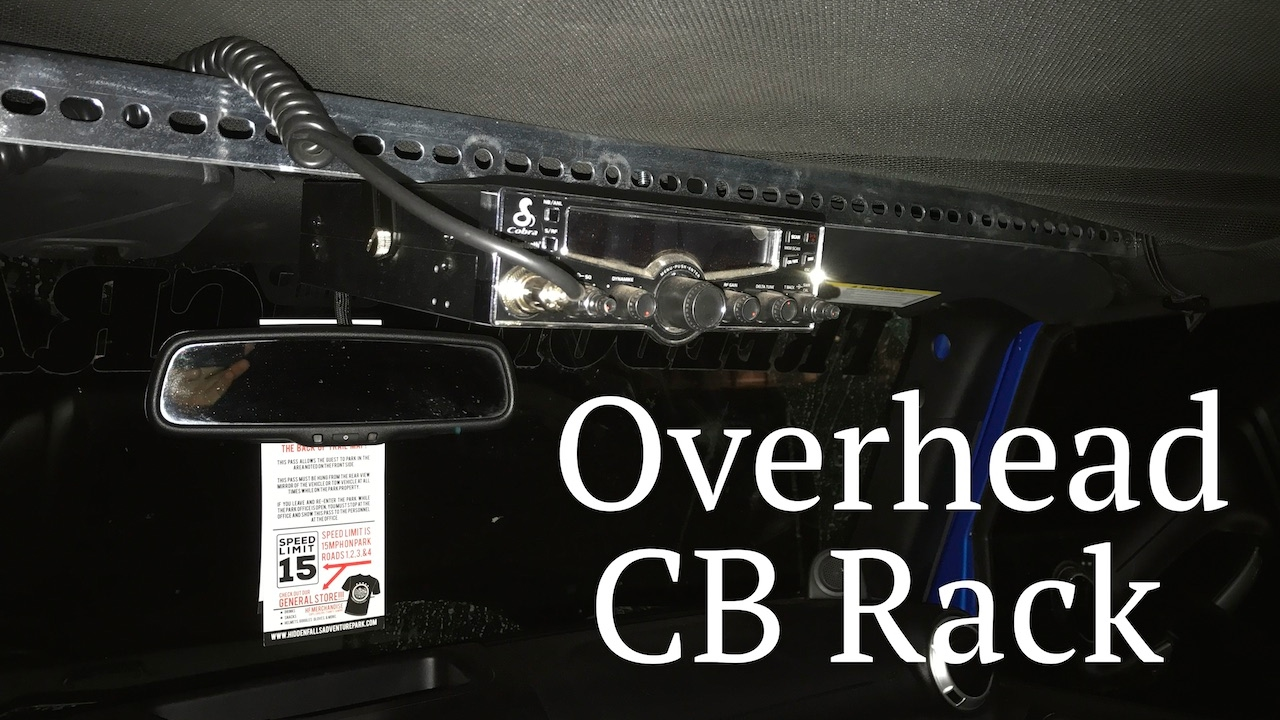 Custom Cb Mount How To Jeep Wrangler Roll Bar It S Not The