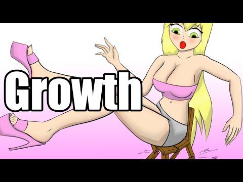 Blondie Grows (Giantess - 巨大娘)