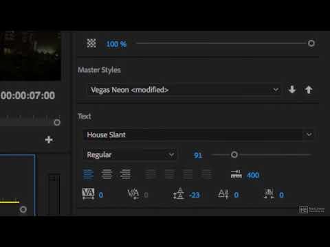 Premiere Pro CC 104: Titling  Graphics - 1. Introduction
