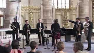 Ben van Dijk - basstrombone & Hendrik Jan Renes - tuba play