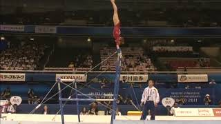 Viktoria Komova (RUS) Uneven Bars Team Qualifcation 2011 Tokyo World Championships