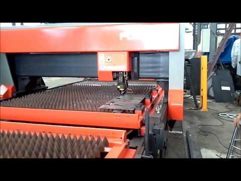 เครื่องตัดเลเซอร์ LASER CUTTING  AMADA  FO3015  ทดสอบตัดเหล็ก 2.0 mm