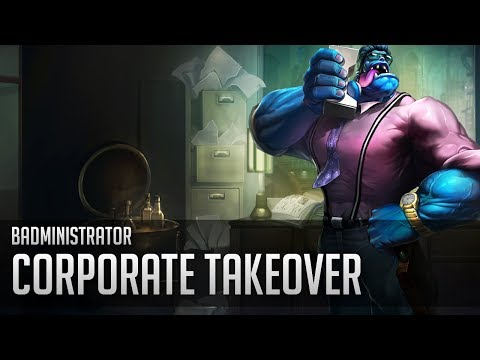 Badministrator - Corporate Takeover (Mundo Tribute)