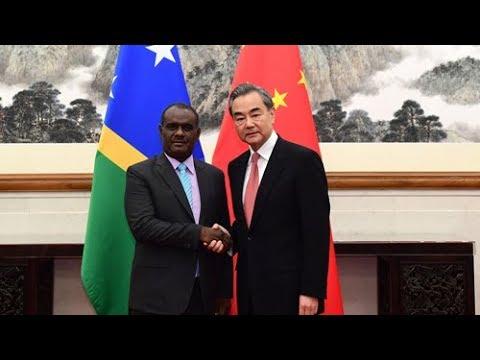 China and Solomon Islands establish diplomatic ties