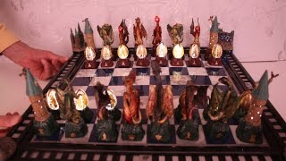Harry Potter Dragon Chess Set by De Agostini- Dragons, Castle, Dragons Egg and Hermiones Time Turner