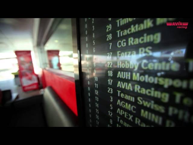 AVIA racing in Dubai beim 24h-Kartrennen 2012