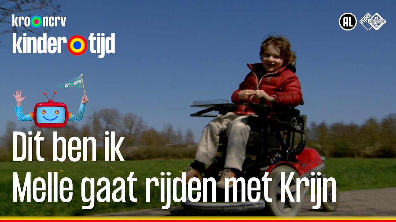 Dit ben ik - Melle gaat rijden met Krijn (Kindertijd KRO-NCRV)