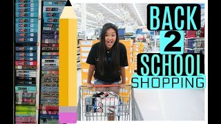 Back to School Supplies Shop with Me!