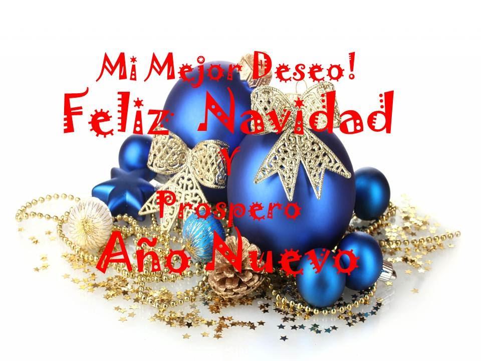 Felicitaciones De Navidad En Castellano.Saludos De Navidad Y Ano Nuevo Feliz 2017