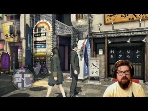 Let's Play Yakuza 0! – SRF Digital Live-Stream mit Guido