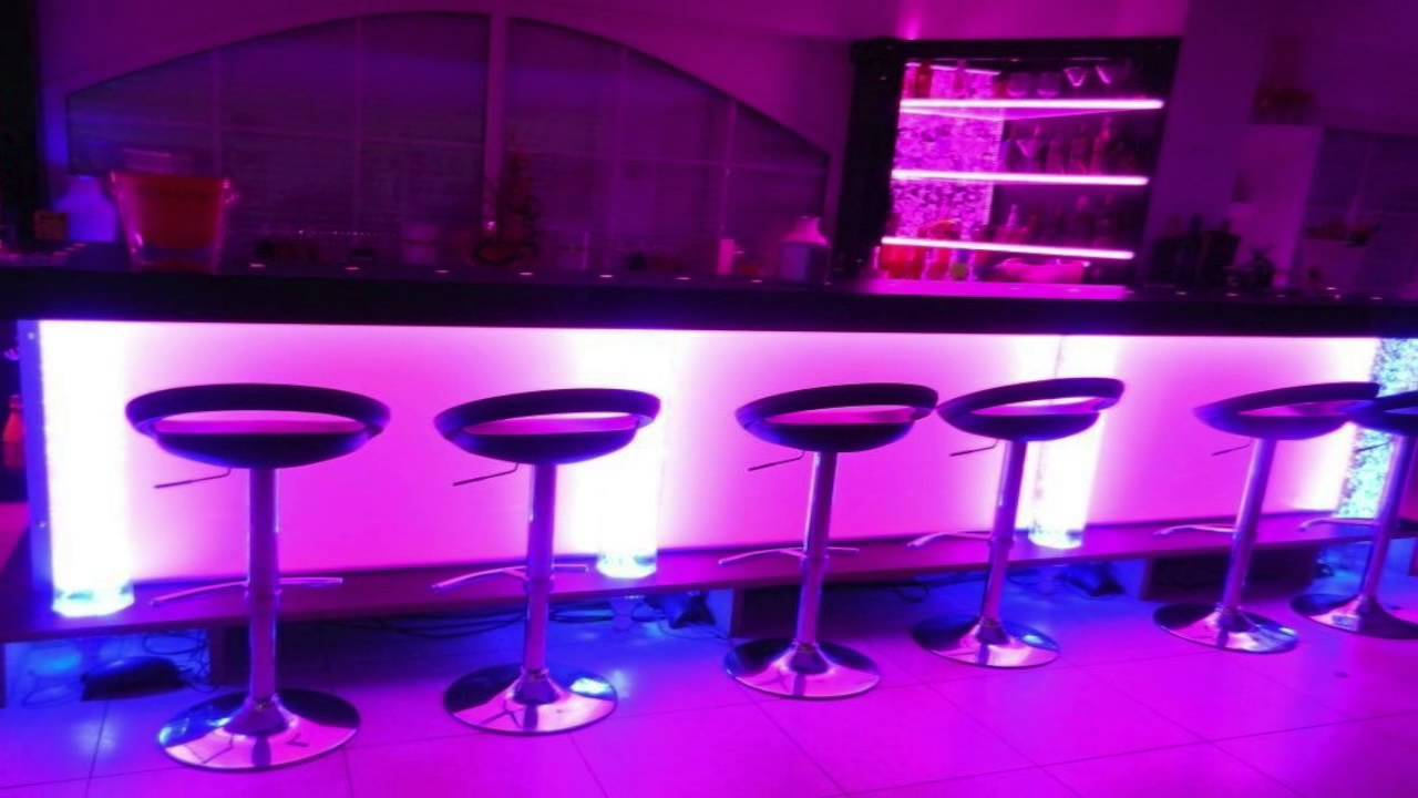 Modern decoration for night club loft and bar youtube - Idee deco lounge design ...