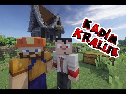 ORTA ÇAĞ EVİ YAPTIK | Minecraft: Kadim Krallık | Bölüm 2