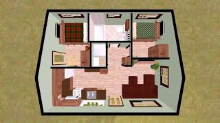 2 Bedroom House Plans With Unfinished Basement