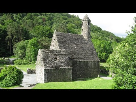 Glendalough Co Wicklow  Ireland - Saint Kevin, Cathedral, Monastery, Round Tower, Monuments