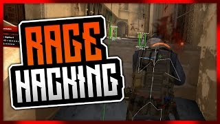 CS:GO | Rage Hacking Matchmaking - (Aimware) // WTF IS HE EVEN RAGING!?! #RIPTeamMates