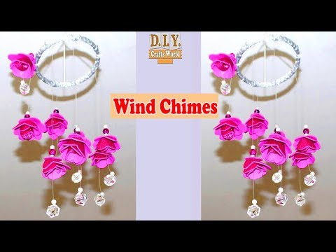 DIY Wind Chimes || How to Make Wind Chimes out of Paper || Wind Chimes Making Using Pape
