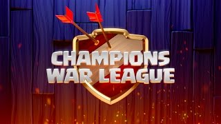 Champions War League Admin Overview | Clash of Clans