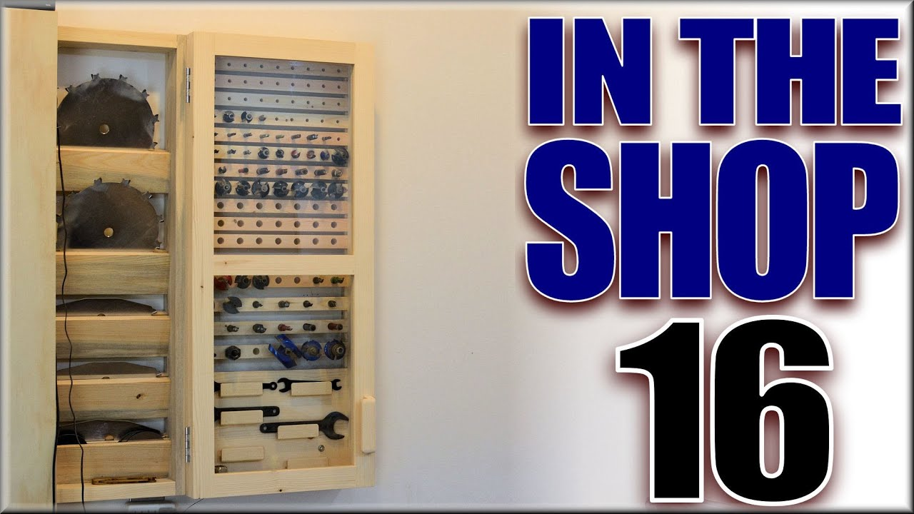 My Router Bit Cabinet Youtube
