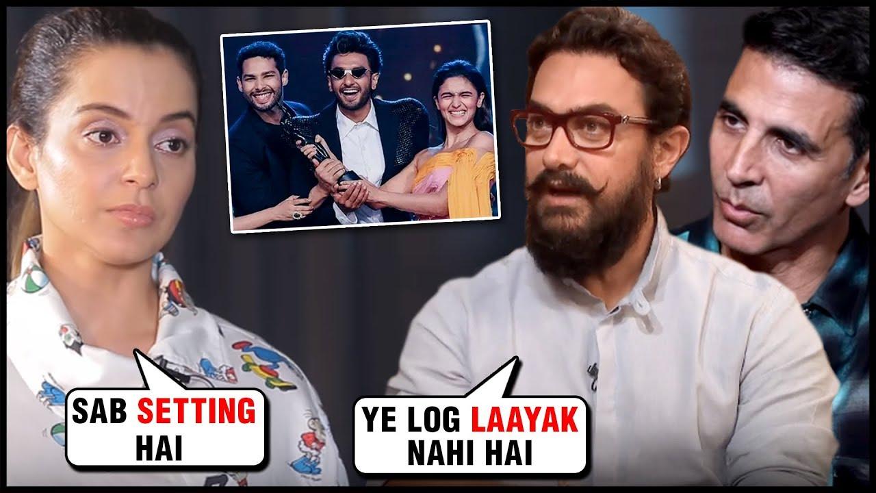 Akshay Kumar, Aamir Khan, Kangana Ranaut Stars Who BOYCOTTED Award Functions