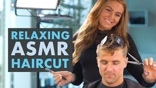 ASMR Super Relaxing Haircut - Professional Scissor Cut