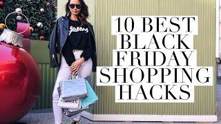 Top 10 Black Friday Shopping Hacks | Aja Dang