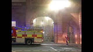 UK Nottingham rail station fire: 60 firefighters tackling fire, no train service, station evacuated
