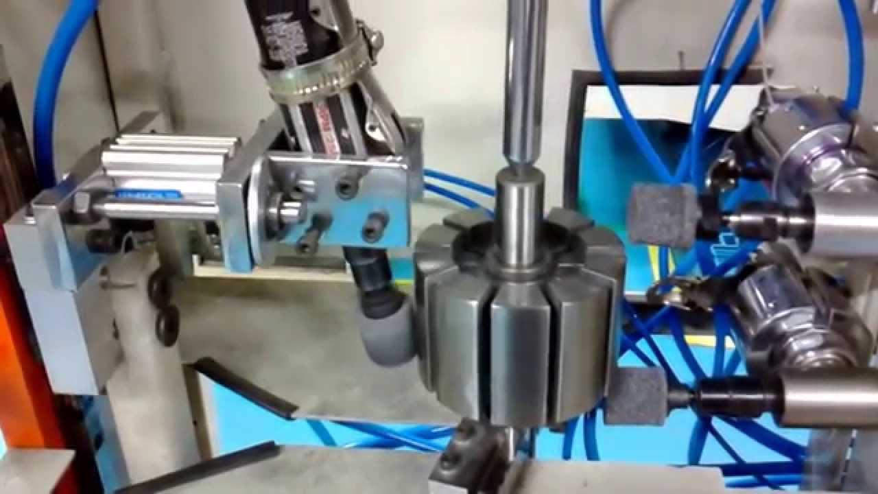 Automatic Deburring Machine Youtube