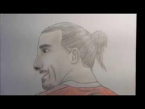 drawing Ibrahimovic - dessin Zlatan Ibrahimovic