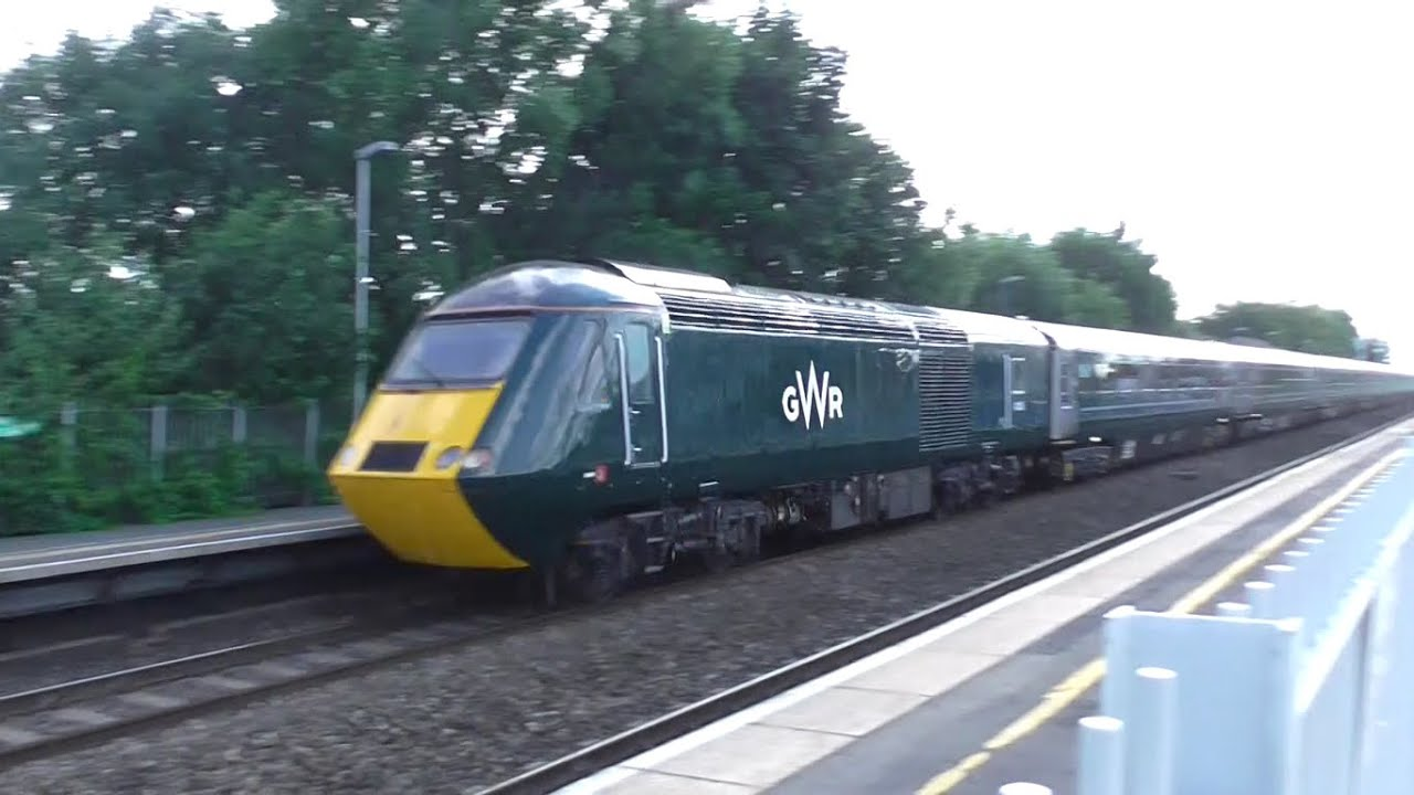 GWR Class 43 HST (2nd Green Refurbished Set 43005 + 43041 ...